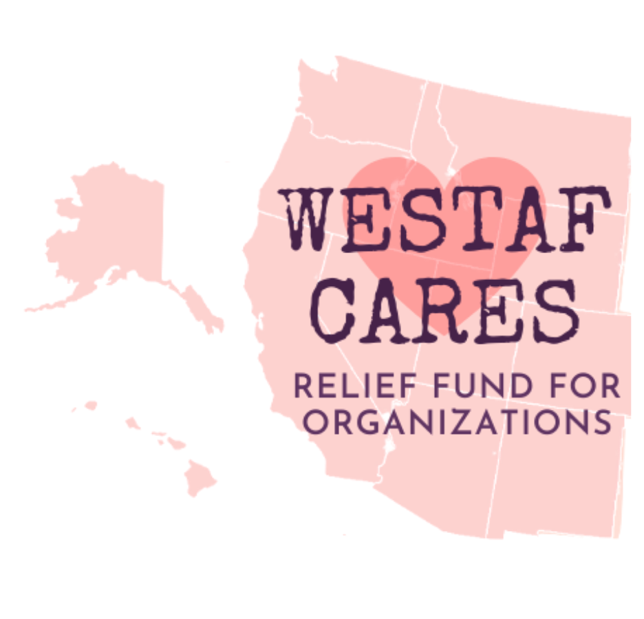 WESTAF CARES Relief Fund for Organizations Logo